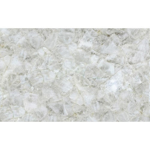 White Quartz Stone Slab 20 30 Mm Rs