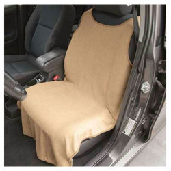 Grey Towel Car Seat Cover