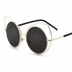 Without Logo Sunglasses Aviator Sunglass