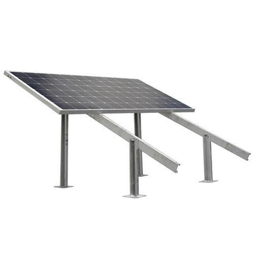 125w To 180w Double Solar Panel Stand At Rs 3000 Unit Ketar Road Garhwa Id 21235110930