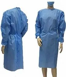 Isolation Gowns With Rib Cuff