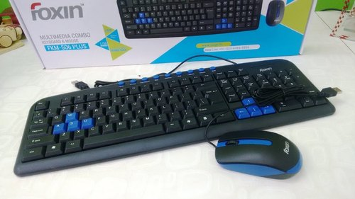 10f315f2716 Foxin Multimedia Keyboard & Mouse Combo at Rs 400 /piece | Keyboard ...