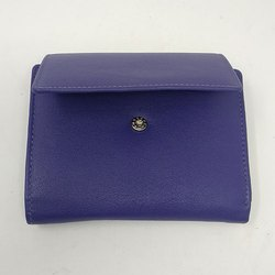 Violet Leather Ladies Wallet