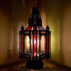 Gypsy Coloured Large Lantern