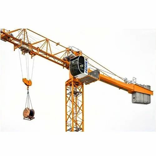 Tower Cranes Mc125 Potain Hammerhead Tower Crane Authorized Wholesale Dealer From Navi Mumbai