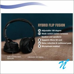 2 in 1 Head Phone Hybrid