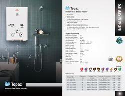 Instant Gas Water Heater (Kalptree)