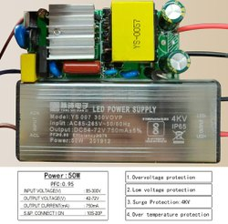 50w 750ma LED Driver
