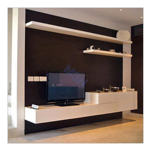 Living Room Cabinet Design In India: Corner TV Stand At Rs 950 /square Feet