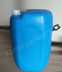 komal packaging Blue 50Ltr Plastic Drum, For Chemical Storage, Capacity: 0 to 50 Litres