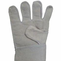 Double Stich Canvas Gloves