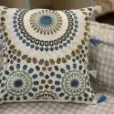 Beautiful Mandala Embroidery Decorative Cotton Throw Cushion Cover