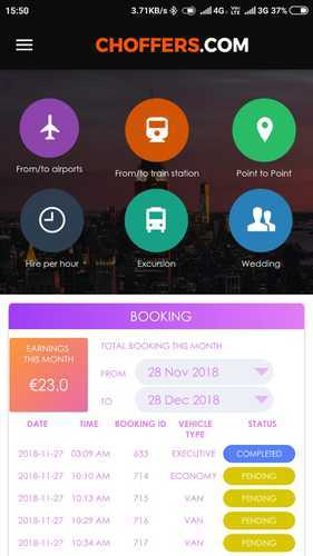 Taxi Management System With Agencies And Driver Management