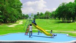Outdoor Wave Slide KAPS 2603