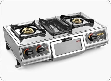 Sunflame Cook Grill Cooktop on camping stove grill, electric stove grill, gas range stove grill, cooker gas stove grill,