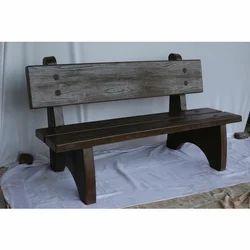 Outdoor RCC Wood Bench