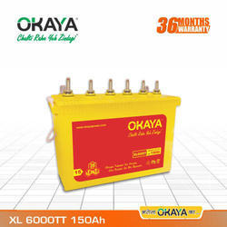XL 6000TT Tall Tubular Battery