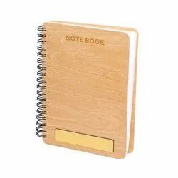 Paper Corporate Wood Gifting Diary