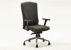 Beat Leatherette Highback Office Chair with Seat Slide