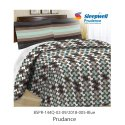 Sleepwell Prudnce Cotton Bedsheet With Pillow Cover For Home, Hotel, Size: 90 Inch X 100 Inch
