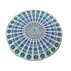 Round Mandala Tapestry Wall Hanging For Dorms