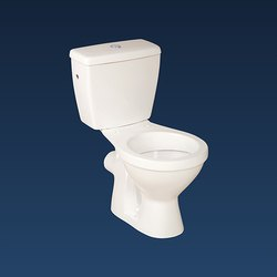 Floor Mounted Open Front Orange-P Ceramic Western Toilet, For Bathroom Fitting