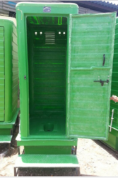 FRP Economic Toilet With 300 ltr Septic tank attached