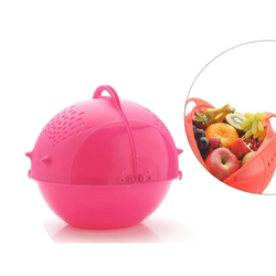 Pink Plastic D0059_Storage Basket, For Kitchen