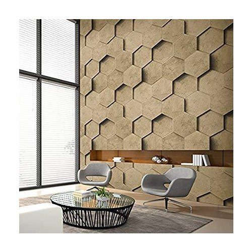 Vertical 4D Imported Wallpaper, Thickness: 1-2 mm