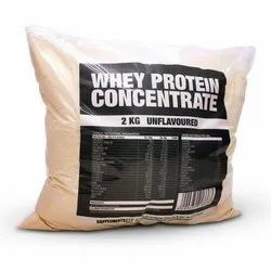 Unflavored Whey Protein Concentrate, Packaging Type: Packet