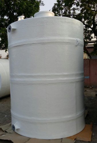 FRP Vertical Nitric Acid Storage Tank