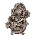 White Metal Ganesha Wall Hanging