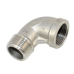 Stainless Steel Threaded Elbow for Industrial