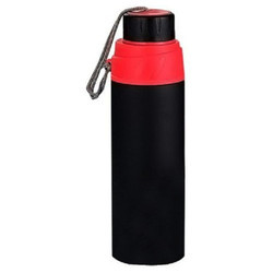 Stainless Steel Black Sports Flask 700 Ml Sipper
