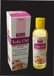 Baby Massage Infa Oil, Packaging Type: Bottle, Packaging Size: 100 Ml