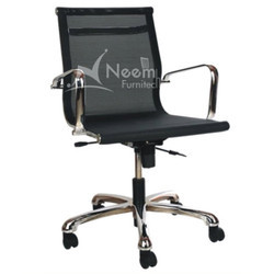 NF-108 Mesh Net Medium Back Chair