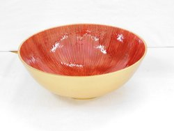 Metal Fruit Serving Bowls