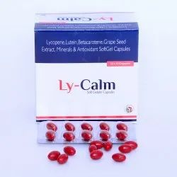 Lycopene Betacarotene Multivitamin Multiminerals Antioxidants Soft Gel Capsules