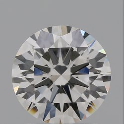1.53ct Lab Grown Diamond CVD G VVS2 Round Brilliant Cut IGI Certified