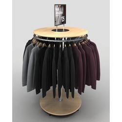 Round Hanging Garment Rack