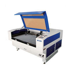 Double Heads Laser Cutting and Engraving Machine