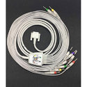 Banana Type 10 Lead ECG Cable