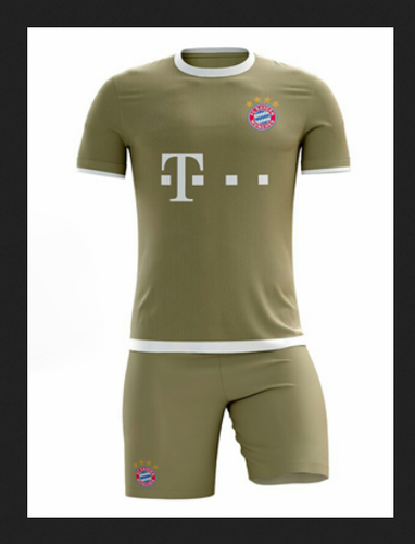 detailed pictures 709ce 1a6ed Bayern Munich Third Kit FKF1113 & White Football Kit FKF1112 ...