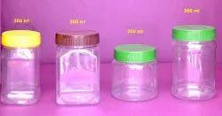 Transparent Pet Jar - Sticker Type Jar Bottle for Packaging