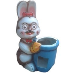 Small Mini Rabbit Dustbin