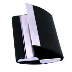 Metal Double Side ATM Card Holder (Black)