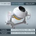 Heavy Duty Velocity Concrete Mixer