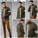 Men Full Sleeve High Neck T-Shirt