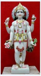 Marble Dhanwanitri God Statue