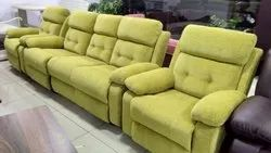 Wooden Modern Green Seater Sofa Set, For Home, Living Room
